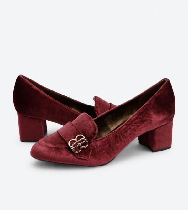 d391016c8 Oncassa3 Block Heel Pumps - Red