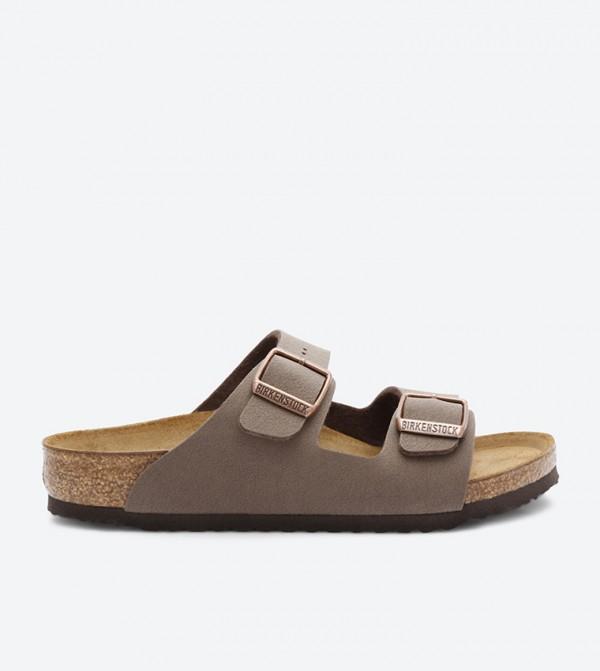 80a3b8830af5 Birkenstock Arizona Two Strap Sandals - Brown BKARIZONA-552893K
