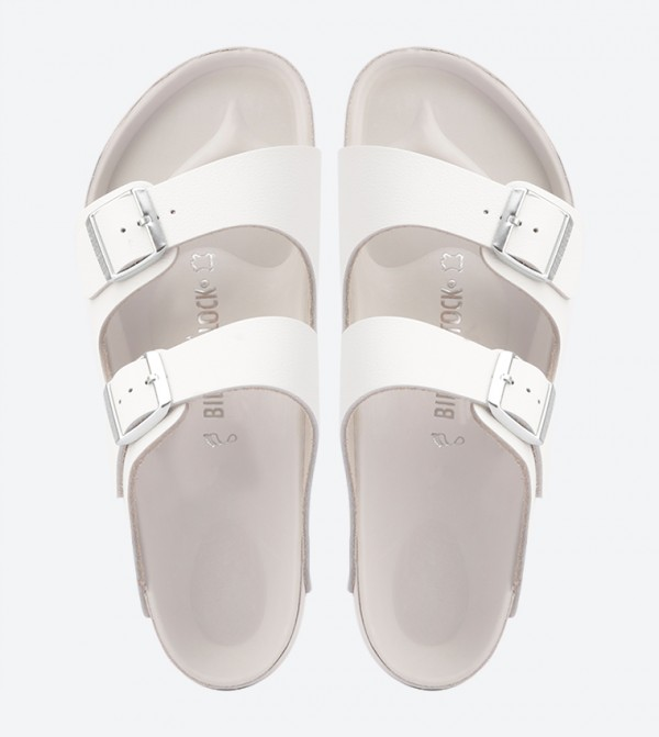 94c8f3183528 Monterey Two Strap Sandals - White BKMONTEREY-948181