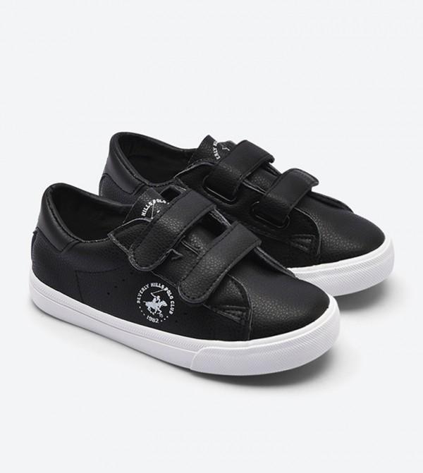 Double Velcro Strap Sneakers - Black BP BH2028 6a4eb69c305