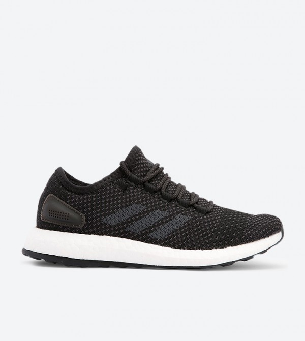 5350b5efe Adidas Pureboost Clima Lace-Up Sneakers - Black BY8899