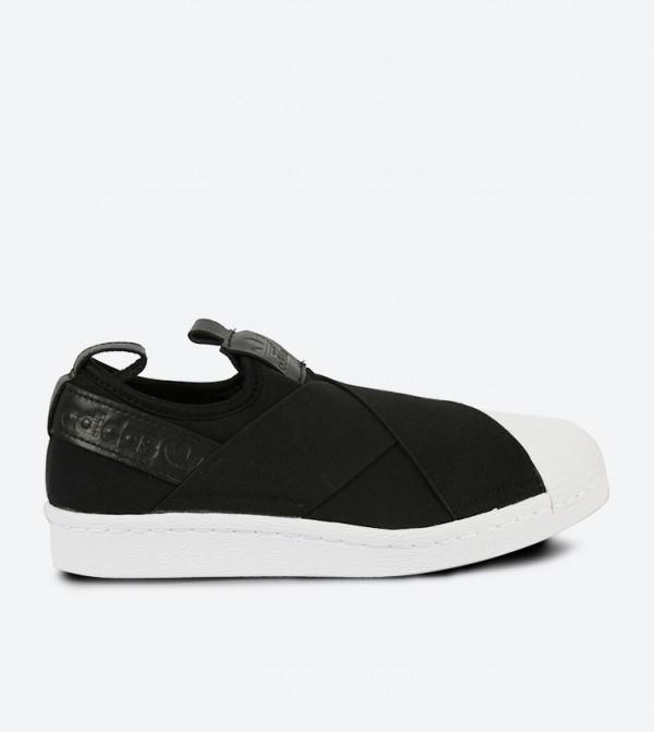 e1e5e617ccc Adidas Originals Superstar Slip-Ons - Black