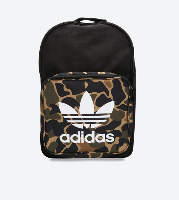 96341512233 Home; Camouflage Printed Classic Backpack - Multi CD6121. CD6121-MULTI