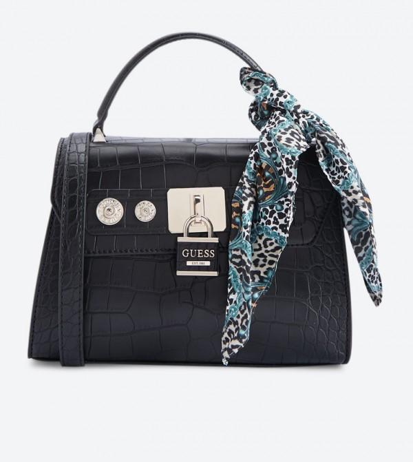 BESTSELLER. Guess Anne Marie Top Handle Cross Body Bag - Black CG718218 3b8955e9e067f