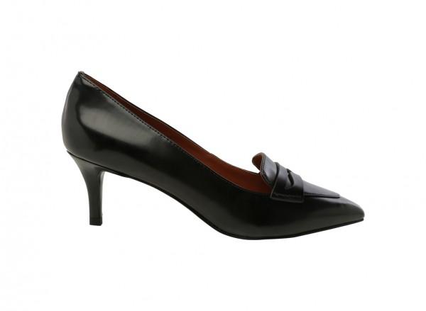 Black Mid Heel-CK1-60300579