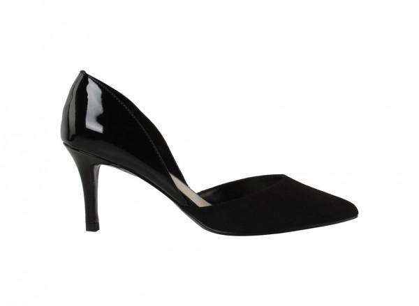 Black Mid Heel-CK1-60360888