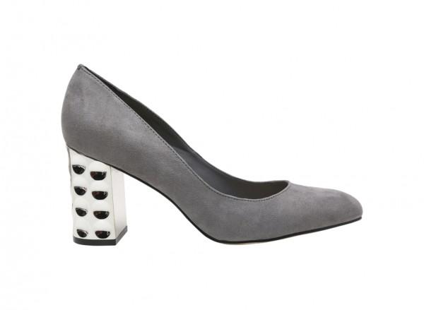 Grey Medium Heel-CK1-60390280