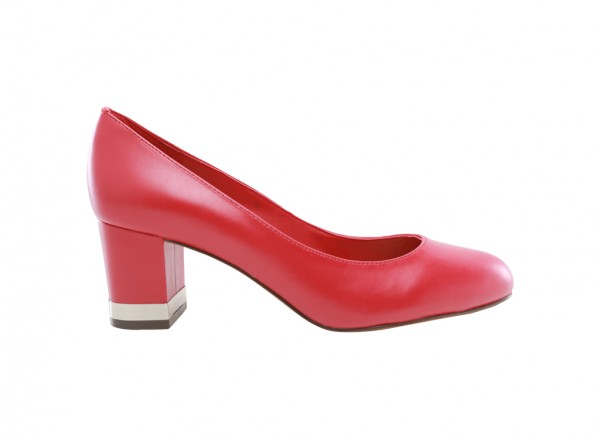 Red Medium Heel