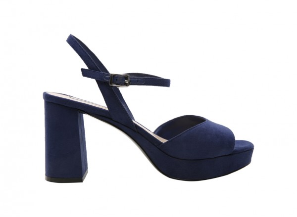 Navy High Heels
