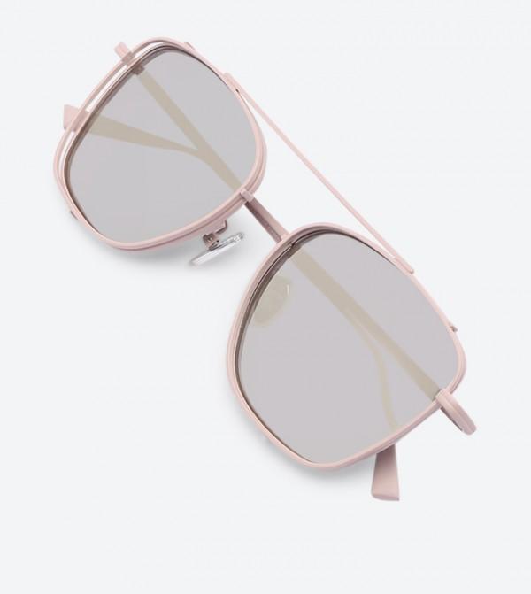 8b800b14e4fc Thin Frame Square Shades Sunglasses - Pink CK3-51280313