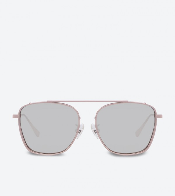 bc5af2760a35 Home; Thin Frame Square Shades Sunglasses - Pink CK3-51280313. CK3-51280313 -CKPINK