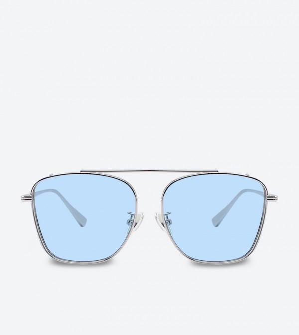 a44ca7679a8b Home; Thin Frame Square Shades Sunglasses - Silver CK3-51280313. CK3- 51280313-CKSILVER