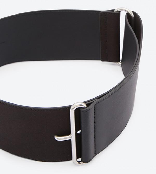 f14ab016997e4 حزام بلون أسود