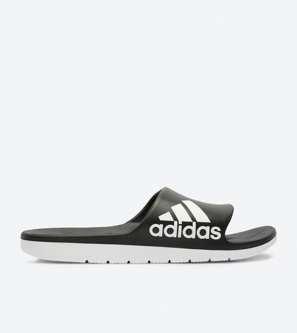 a0126f80f3f Adidas Aqualette Cloudfoam Slides - Black CM7928