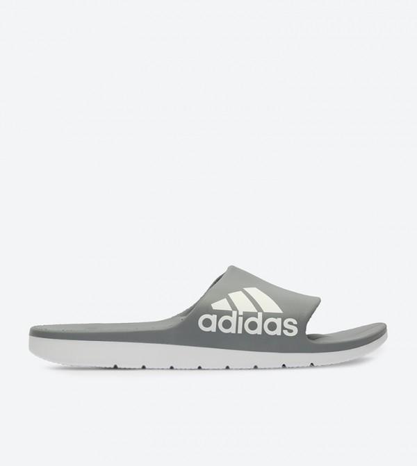 50af2b426eeb4 Adidas Aqualette Cloudfoam Slides - Grey CM7930