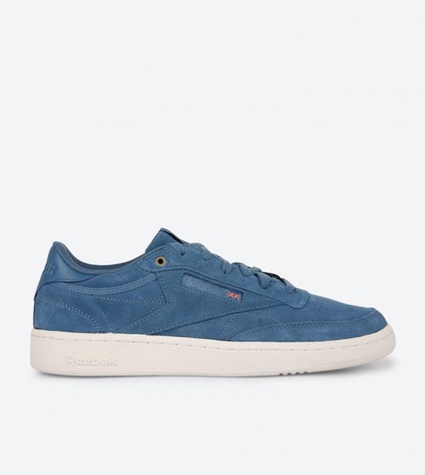 f2889494124bb Home  Club C 85 Sneakers - Blue. CM9295-MT.-FUJI-CHALK