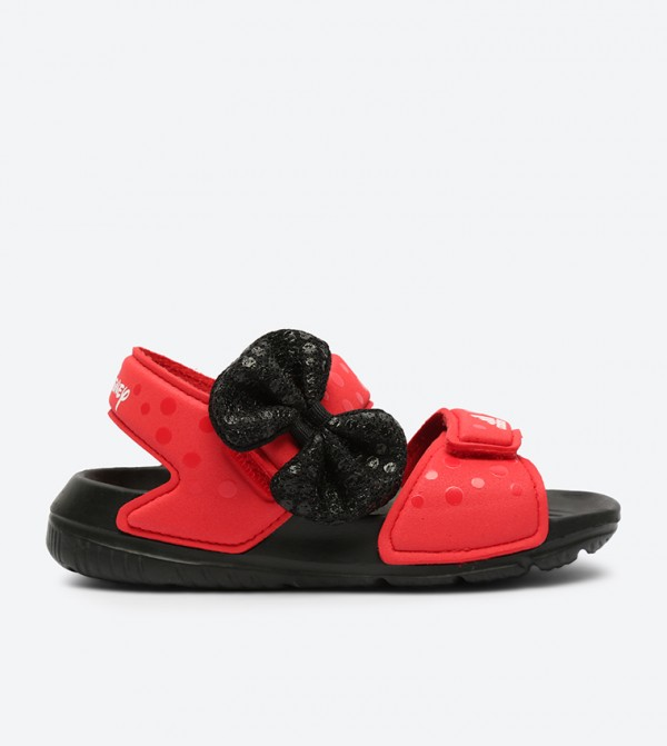 ac2166dc27790 Adidas Dy M M Altaswim Bow Closure Sandals - Red CQ0108