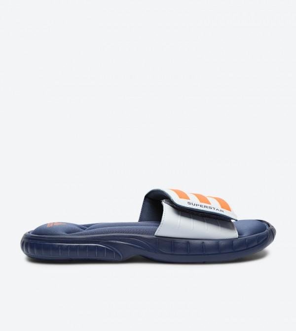 b43ac90394589e Adidas Originals Superstar 3G Slides - Blue CQ0134