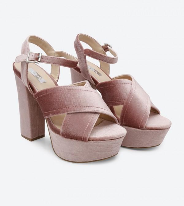 Block Crush Block Heel Blush Sandals Heel Sandals Crush Blush D9WEIH2Y
