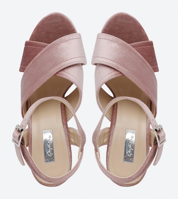 7fcbbc0ccaa Crush Block Heel Sandals - Blush