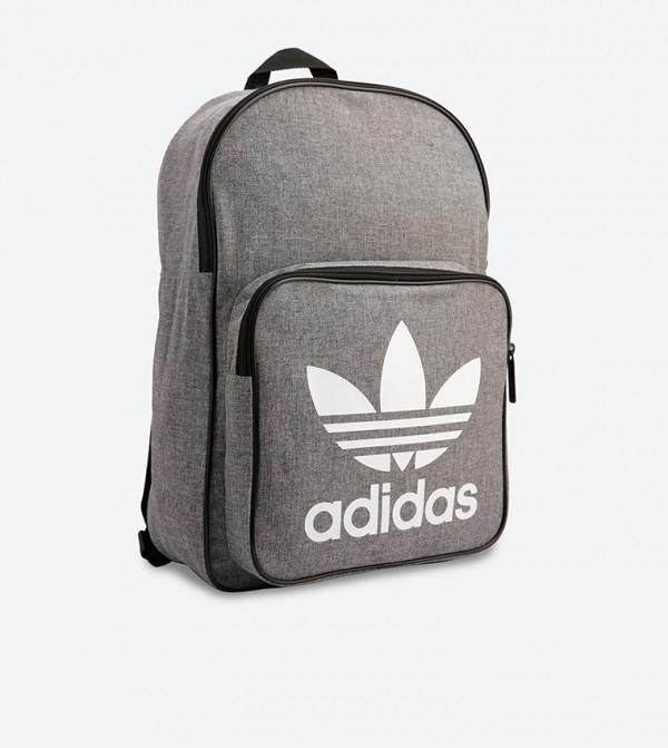 1ec2f9c9eaf4 Classic Trefoil Casual Backpack - Grey D98923