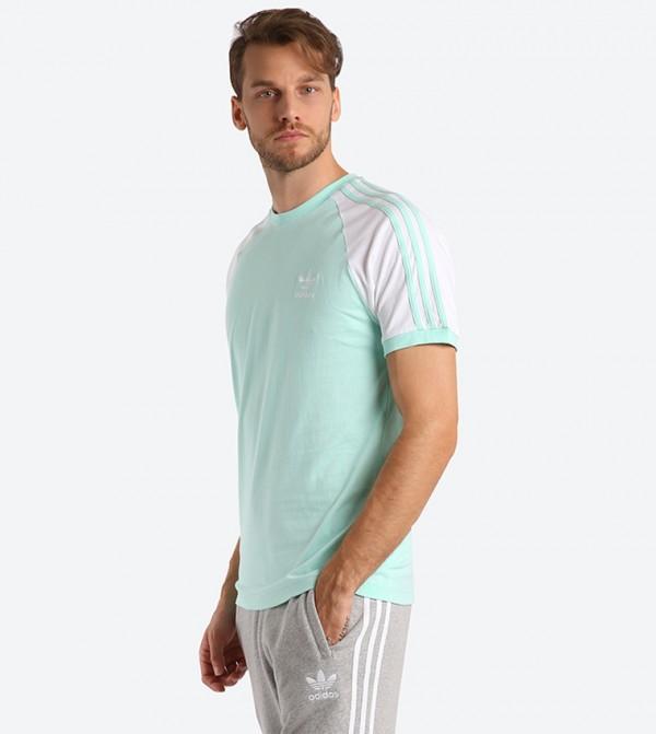 9d6fb0a71ab Adidas Originals 3-Stripes Short Sleeve T-Shirt - Green DH5806