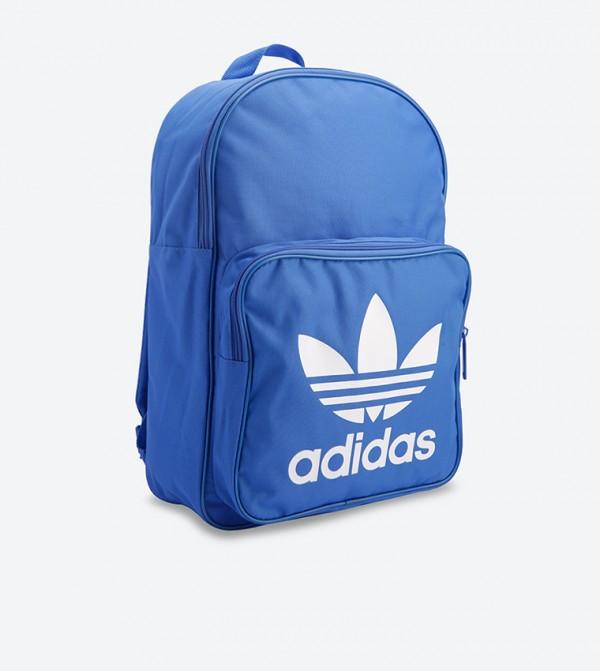 Classic Trefoil Backpack - Blue DJ2172 e7bd19fc9135e