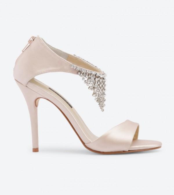 583e9323e14 Caparros Kiss Rhinestone Drip Sandals - Blush DSW-418202