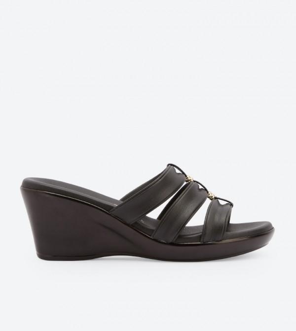 55f4981e22b5 Avis Wedge Sandals - Black DSW-428962
