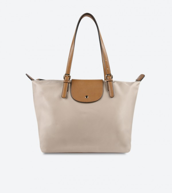974874e495d44 Double Handle Tote Bag - Taupe DSW387207