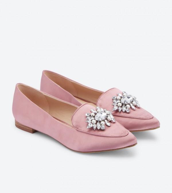 e4664ec5628 Lovelian Jeweled Loafers - Pink DSW398557