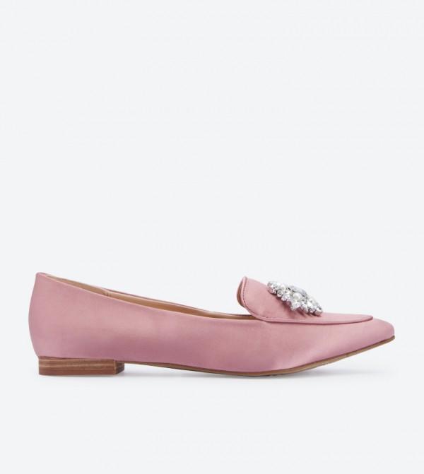 f9850036910 Home  Lovelian Jeweled Loafers - Pink DSW398557. DSW398557-LIGHT-PINK