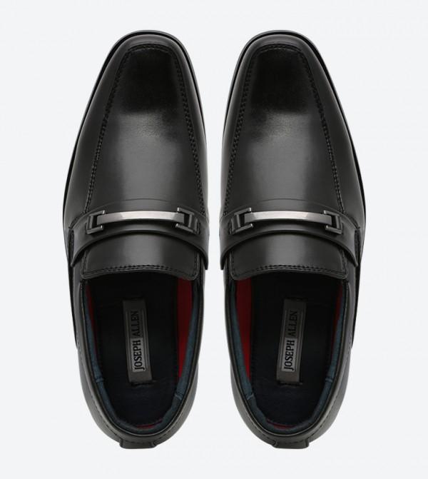 Square Toe Dress Shoes Black