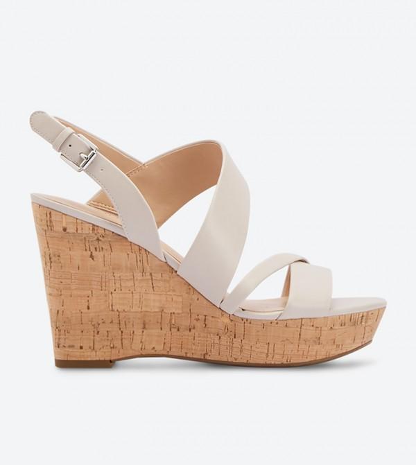 58c03567eaf2 Home · Women · Shoes  Seneca Buckle Closure Wedge Sandals - Nude DSW420596.  DSW420596-230-NUDE