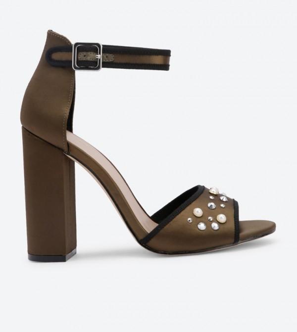769c08d7c28df1 6 Jazmynne Block Heel Jeweled Sandals - Green DSW52223185