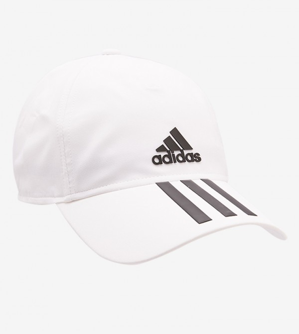 e6e39a7a Adjustable Back Strap C40 3 Stripes Climalite Cap - White