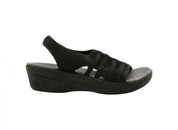 Mistyday Black Mid Heels