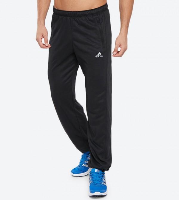 dd06b0d8c31db7 Adidas Elastic Waistband Herren Hose Prime Track Pants - Black F51143
