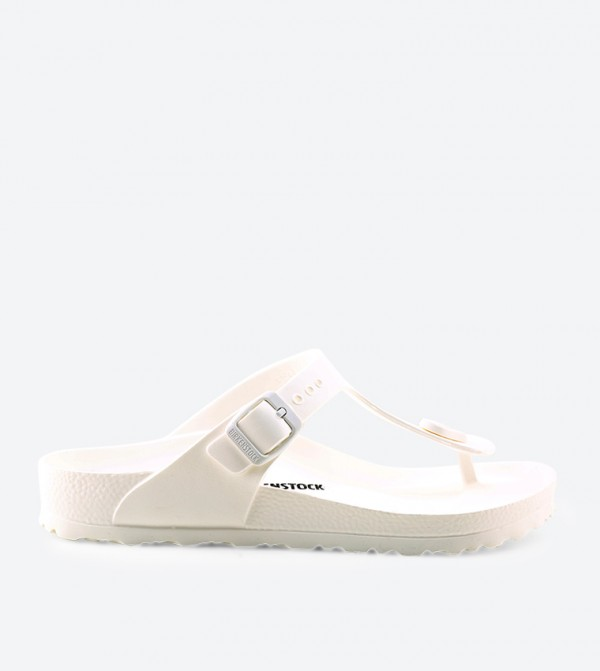1d7797071ca9 Birkenstock Gizeh Sandals - White - GIZEH-EVA-WHITE