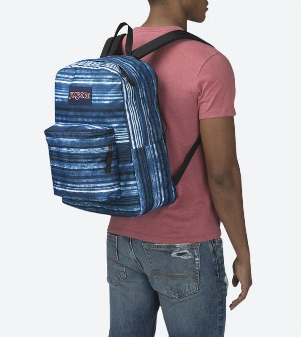 60b44be1a83a Variegated Stripe Blue Superbreak Backpack