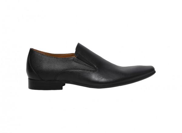 Black Slip-Ons-K020-44