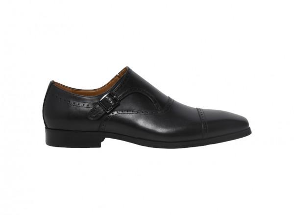 Black Slip-Ons-K204-65