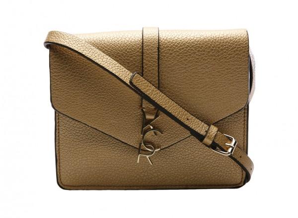 Letterman Gold Cross Body Bag