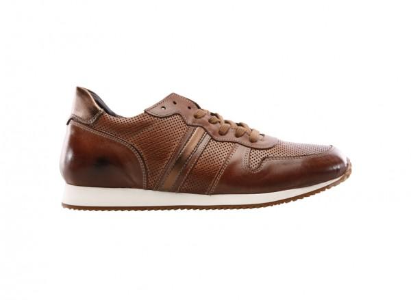 Scroll Down Brown Sneakers