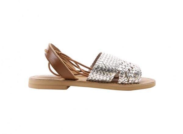 Zoom Out Silver Footwear