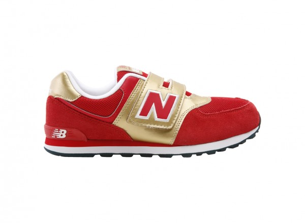 574 Red Sneakers And Athletics-KV574C7Y