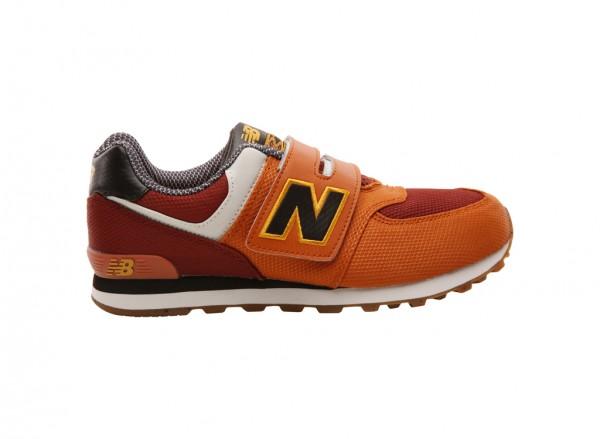574 Orange Sneakers