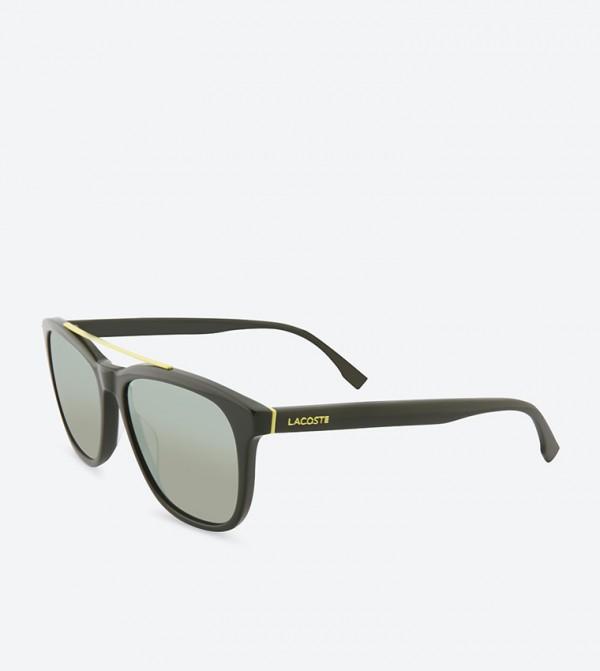 fd8ac3ad3ae2 Green Colored Wayfarer Frame Sunglasses - L822S-315-55-16