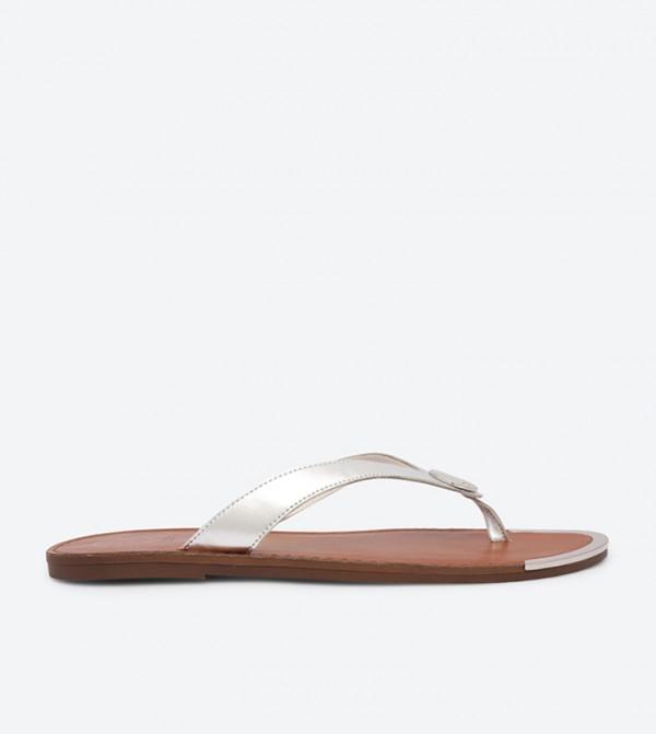 d470e6289640 Lagos Flip Flops - Silver