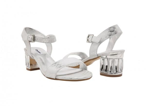 81d810735b2 Marcia Mid Heel - Silver